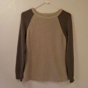 Orvis Sweater Duotone Brown Small Cotton